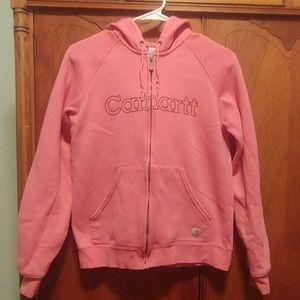 Carhartt zip-up sweatshirt